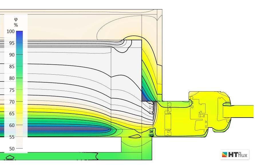 Fensteranschluss-Dampfbremse-Relative-Feuchte