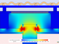 Flankendiffusion Umströmung der Dampfsperre