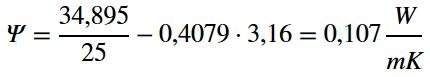 PSI-Berechnung-Formel