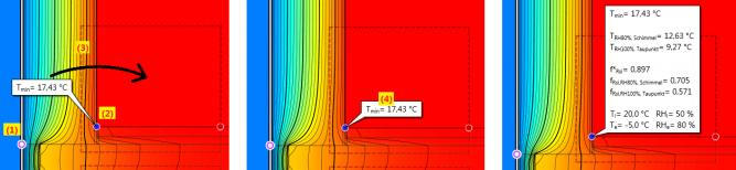 Anzeige Oberflächentemperatur Frsi