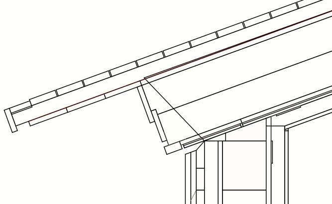Drahtgitter-Ansicht Thermische Simulation