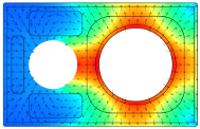 Thermische-Simulation, Luftstrom-Rauchgas-Schornstein-Rohrströmung