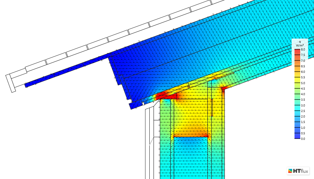 Easily identify and optimize thermal bridging effects.