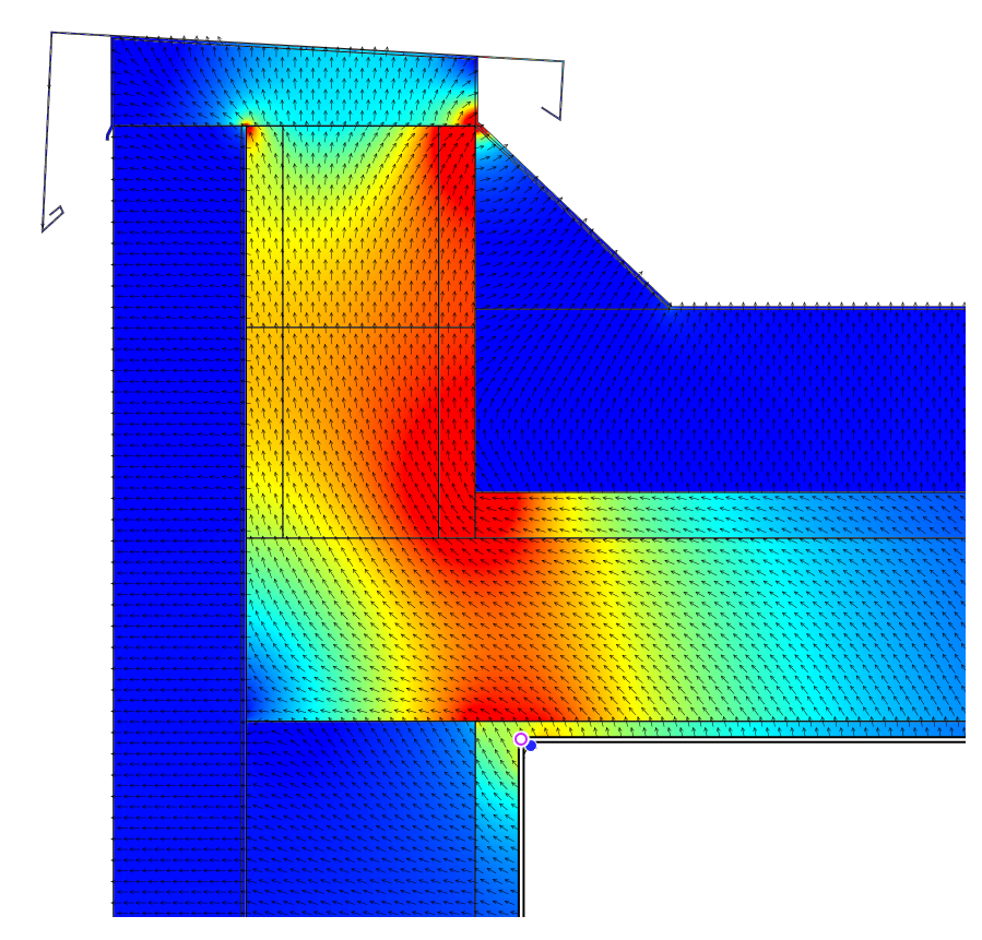 Thermal Bridge Simulation Htflux