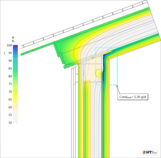 Timber Frame construction condensation on vapor barrier