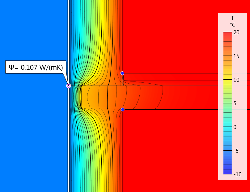 Thermal-Bridging-Isotherms