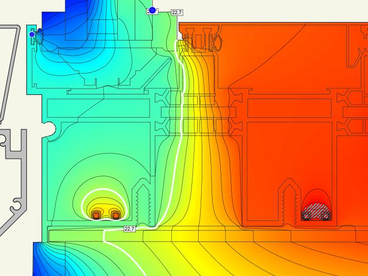 Designing A Window Frame Heating Htflux