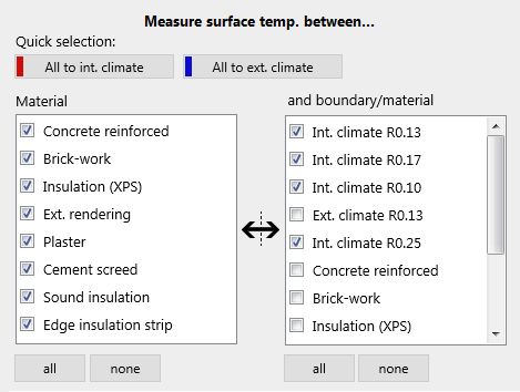 temperature-surface-selection