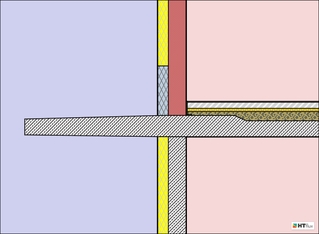 Isokorb-cantilever-thermal-simulation
